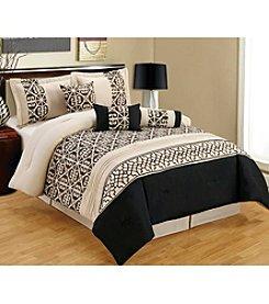 PHF Linens Maani 7-pc. Comforter Set