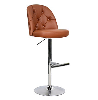 Whalen Archer Brown Bar Stool