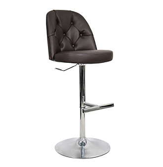 Whalen Archer Black Bar Stool