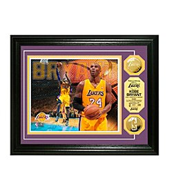 Kobe Bryant Gold Coin Photo Mint by Highland Mint