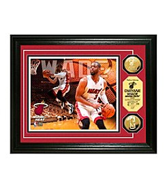 NBA® Miami Heat Dwayne Wade Gold Coin Photo Mint