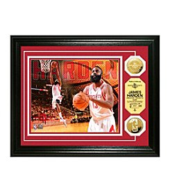 James Harden Gold Coin Photo Mint by Highland Mint