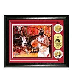 NBA® Houston Rockets James Harden Gold Coin Photo Mint
