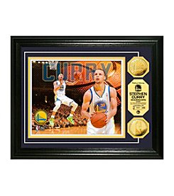 Stephan Curry Gold Coin Photo Mint by Highland Mint
