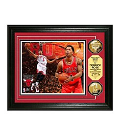 Derrick Rose Gold Coin Photo Mint by Highland Mint