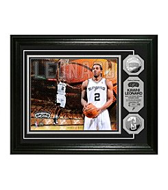 Kawhi Leonard Silver Coin Photo Mint by Highland Mint