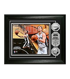 Manu Ginobili Silver Coin Photo Mint by Highland Mint