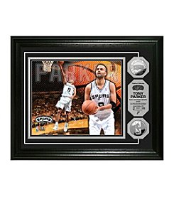 Tony Parker Silver Coin Photo Mint by Highland Mint