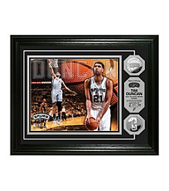 Tim Duncan Silver Coin Photo Mint by Highland Mint
