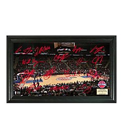 Detroit Pistons Signature Court by Highland Mint