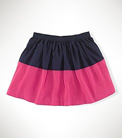 Ralph Lauren Childrenswear Girls' 7-16 Multi-Stripe Skirt