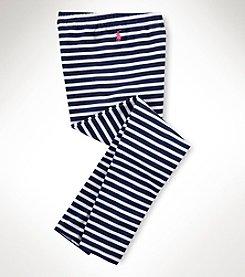 Ralph Lauren Childrenswear Girls' 7-16 Multi-Stripe Leggings
