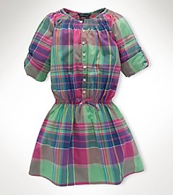 Ralph Lauren Childrenswear Girls' 7-16 Shirt Dress
