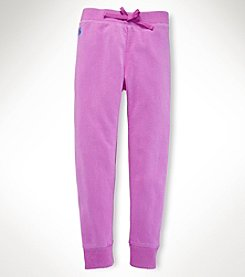 Ralph Lauren Childrenswear Girls' 7-16 Fleece Pants
