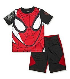 Spider-Man® Boys' 2T-7 2-Piece Spidey Face Set