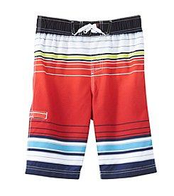 Mambo® Boys' 8-20 Striped Swim Trunks