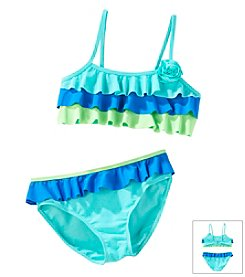 Mambo® Girls' 7-16 2-Piece Bikini