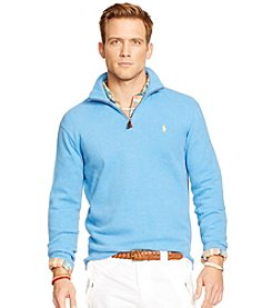 Polo Ralph Lauren® Men's French Ribbed 1/4 Zip Pullover