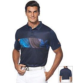 Callaway® Men's Short Sleeve Chest Print Polo