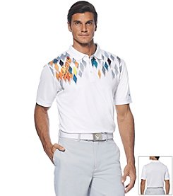 Callaway® Men's Diamond Argyle Printed Polo