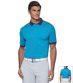Callaway® Men's Athletic Striped Shoulder Polo