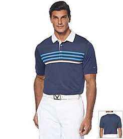 Callaway® Men's Striped Chest Polo