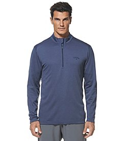 Callaway® Men's 1/4 Zip Heather Waffle Fleece Sweater