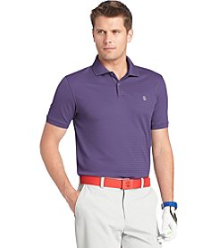Izod® Men's Short Sleeve Textured Stripe Polo