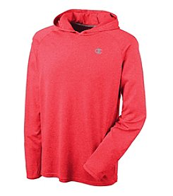 Champion® Men's Long Sleeve Pullover Hood Tee