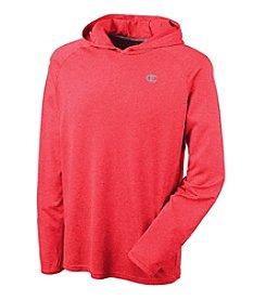 Champion® Men's Long Sleeve Pullover Hood Tee