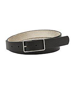Fossil® Reversible Centerbar Belt