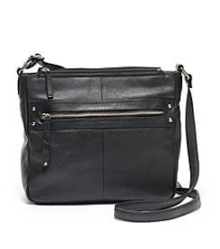 Great American Leatherworks Braid Crossbody Bag