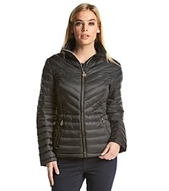 MICHAEL Michael Kors® Zip Front Packable Coat