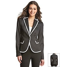 Jones New York Signature® Petites' Refined Denim Blazer