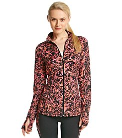 Exertek® Pieced Abstract Print Jacket