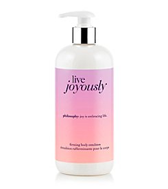 philosophy® Live Joyously Firming Body Emulsion