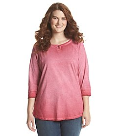 Ruff Hewn Plus Size Cold Process Henley