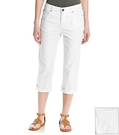 Relativity® Five Pocket Twill Capri