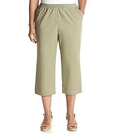 Breckenridge® Plus Size Twill Capri
