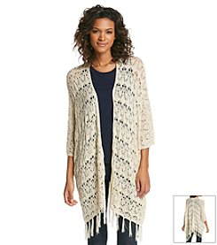 Olivia Sky Crochet Cardigan