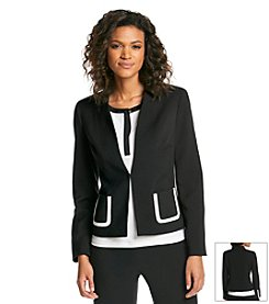 Jones New York Collection® Double Weave Blazer
