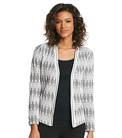 Jones New York Collection® Gauze Cardigan