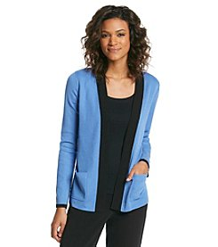 Jones New York Collection® Contrast Cardigan