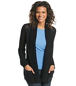 Jones New York Collection® Open Weave Cardigan