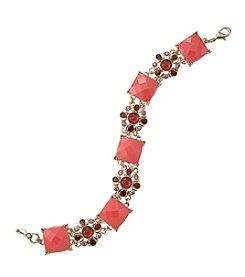 Napier® Beaded Line Bracelet in Gift Box
