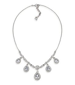 Carolee® The Ella Crystal Teardrop Necklace