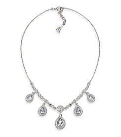 Carolee® The Ella Crystal Teardrop Necklace