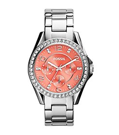 Fossil® Women's Riley Stainless Steel Bracelet Watch