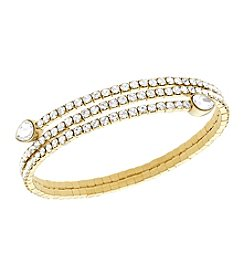 Swarovski® Twisty Drop Bangle