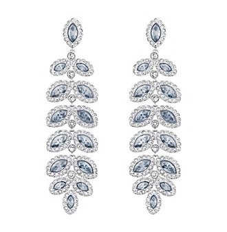 Swarovski® Baron Pierced Earrings